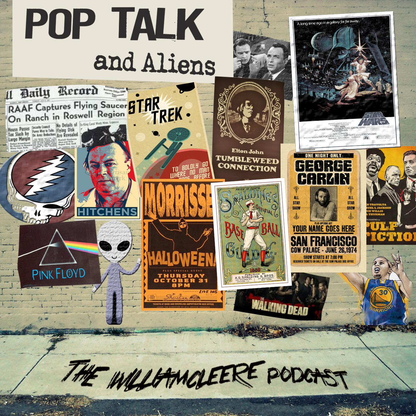 Pop Talk and Aliens - The William Cleere Podcast